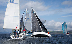 Largs Regatta Week 2017 <br /> <br /> Day 2, RC35 Fleet with GBR3627L, Animal, Kevin Aitken, CCC/RNCYC, First 36.7<br /> <br /> Picture Marc Turner