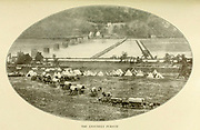 The Leisurely Pursuit from the book ' The Civil war through the camera ' hundreds of vivid photographs actually taken in Civil war times, sixteen reproductions in color of famous war paintings. The new text history by Henry W. Elson. A. complete illustrated history of the Civil war