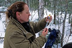 Kris Timmerman Filling Syringe With Drug