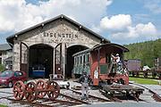 Eisenbahnmuseum, Bayerisch Eisenstein, Bayerischer Wald, Bayern, Deutschland | railway museum Bayerisch Eisenstein, Bavarian Forest, Bavaria, Germany