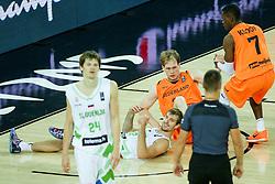 08-09-2015 CRO: FIBA Europe Eurobasket 2015 Slovenie - Nederland, Zagreb<br /> De Nederlandse basketballers hebben de kans om doorgang naar de knockoutfase op het EK basketbal te bereiken laten liggen. In een spannende wedstrijd werd nipt verloren van Slovenië: 81-74 / Zoran Dragic of Slovenia. Photo by Matic Klansek Velej / RHF