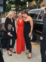 Ronda Rousey and Julia DeMars are seen in Los Angeles, California. NON-EXCLUSIVE August 9, 2018. 09 Aug 2018 Pictured: Ronda Rousey,Julia DeMars. Photo credit: gotpap/Bauergriffin.com/MEGA TheMegaAgency.com +1 888 505 6342