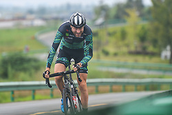 September 15, 2017 - Chenghu City, United States - AlexisCartier H&R Block Pro Cycling team during the fourth stage of the 2017 Tour of China 1, the 3.3 km Chenghu Jintang individual time trial. .On Friday, 15 September 2017, in Jintang County, Chenghu City,  Sichuan Province, China. (Credit Image: © Artur Widak/NurPhoto via ZUMA Press)