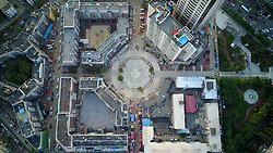 August 21, 2017 - Shenyan, Shenyan, China - Shenyang, CHINA-21st August 2017: (EDITORIAL USE ONLY. CHINA OUT) The Bagua Street, is regarded as the most mysterious street due to its structure of labyrinth in Shenyang, northeast China's Liaoning Province. Many drivers get lost when they enter the street. (Credit Image: © SIPA Asia via ZUMA Wire)