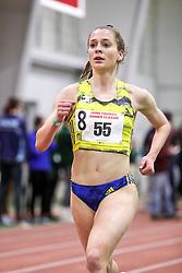 womens 3000 meters, heat 1, BAA, Samantha Nadel<br /> BU John Terrier Classic <br /> Indoor Track & Field Meet