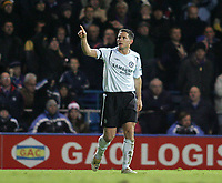 Photo: Lee Earle.<br /> Portsmouth v Chelsea. The Barclays Premiership.<br /> 26/11/2005. Chelsea's Frank Lampard celebrates scoring their second goal.