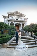 Wedding photography by Kristina Cilia at the Crocker Art Museum, Sacramento, CA