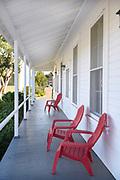 Mess Hall Porch at Irvine Ranch Historic Park