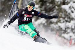 Jernej Demsar of Slovenia during Qualification Run of FIS Snowboard World Cup Rogla 2013 in Parallel Giant slalom, on February 8, 2013 in Rogla, Slovenia. (Photo By Vid Ponikvar / Sportida.com)