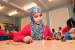 Children in a classroom, primary school