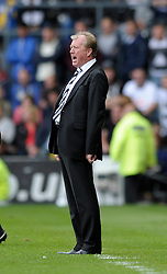 Derby County Manager, Steve McClaren shouts instructions from the touch line - Photo mandatory by-line: Dougie Allward/JMP - Mobile: 07966 386802 30/08/2014 - SPORT - FOOTBALL - Derby - iPro Stadium - Derby County v Ipswich Town - Sky Bet Championship