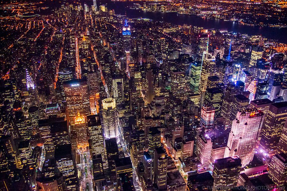 New York City - Midtown Manhattan at Night