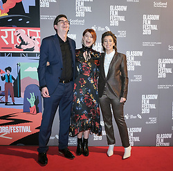 The Scottish Premiere of Wild Rose<br /> <br /> Pictured: James Harkness, Jessie Buckley and Nicole Taylor<br /> <br /> (c) Aimee Todd | Edinburgh Elite media