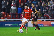 Alex Mowatt of Barnsley (27) in action during the EFL Sky Bet League 1 match between Barnsley and Sunderland at Oakwell, Barnsley, England on 12 March 2019.