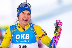 March 10, 2019 - –Stersund, Sweden - 190310 Linn Persson of Sweden looks dejected after the Women's 10 km Pursuit during the IBU World Championships Biathlon on March 10, 2019 in Östersund..Photo: Petter Arvidson / BILDBYRÃ…N / kod PA / 92254 (Credit Image: © Petter Arvidson/Bildbyran via ZUMA Press)