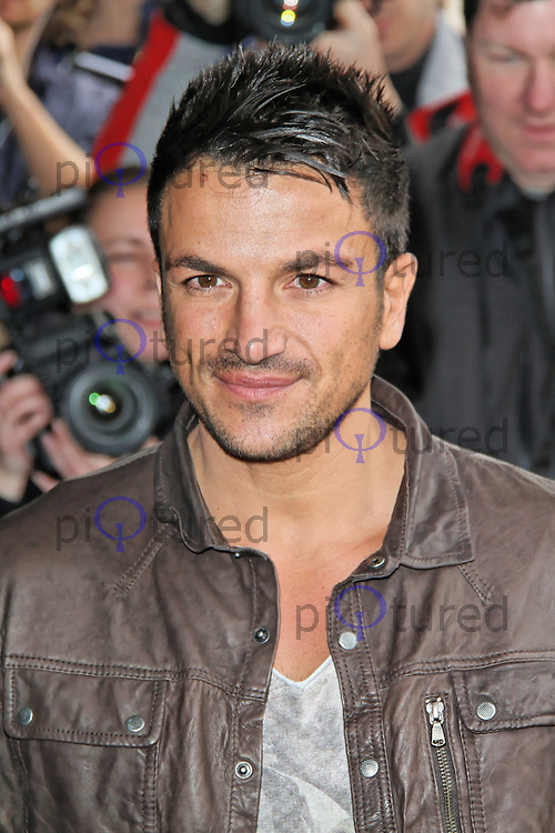 LONDON - MARCH 13: Peter Andre attends the TRIC Awards at the Grosvenor House Hotel, London, UK. March 13, 2012. (Photo by Richard Goldschmidt)