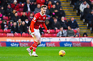 Liam Lindsay of Barnsley (6) in action during the EFL Sky Bet League 1 match between Barnsley and Bradford City at Oakwell, Barnsley, England on 12 January 2019.