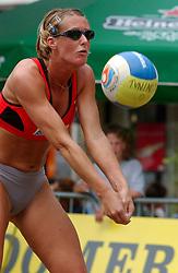 30-06-2000 NED: Beach Masters Tournooi, Apeldoorn<br /> Pauline Maurice