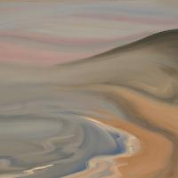 Big Sur at Jade Beach. Plein air oil sketch, 9 x 12.