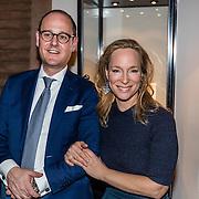 NLD/Waalre/20170130 - Lancering nieuwe juwelenlijn Leaves Dewdrops van Prinses Margarita , Prinses Margarita en Michael Roell