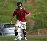 Fotball / Football<br /> International U 17 Team Tournament<br /> Norge v Polen 3-1<br /> Norway v Poland 3-1at La Manga - Spain<br /> Poland played in Norways white changing shirts<br /> 05.02.2007<br /> Foto: Morten Olsen, Digitalsport<br /> <br /> Denan Zagorcic - Follo