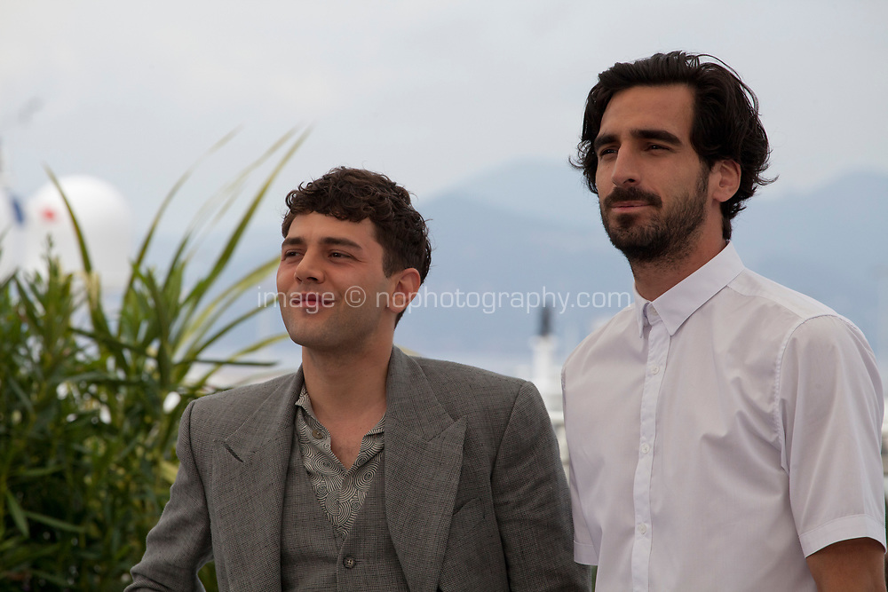 Director Xavier Dolan and actor Gabriel D'almeida-Freitas at Matthias & Maxime film photo call at the 72nd Cannes Film Festival, Thursday 23rd May 2019, Cannes, France. Photo credit: Doreen Kennedy