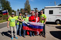 Frutabela Team at 2018 UCI Road World Championships Innsbruck, on September 26, in Austria. Photo by Vid Ponikvar / Sportida