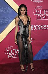 Teyana Taylor bei den Soul Train Awards 2016 in Las Vegas / 061116<br /> <br /> *** Soul Train Awards 2016 Red Carpet at the Orleans Arena in Las Vegas, USA, November 6, 2016 ***