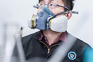 CHINA / Changzhou <br /> <br /> Tüv Süd China - Quality Assurance 'Fire testing lab<br /> <br /> © Daniele Mattioli China Corporate Photographer for Tüv China