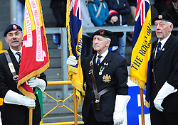 Remembrance Day - Photo mandatory by-line: Neil Brookman/JMP - Mobile: 07966 386802 - 15/11/2014 - SPORT - Football - Bristol - Memorial Stadium - Bristol Rovers v Kidderminster - Vanarama Football Conference