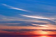 Colorful Orange County Sunset