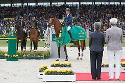 Brash Scott, (GBR), Hello Sanctos <br /> Rolex Grand Prix, The Grand Prix of Aachen<br /> Weltfest des Pferdesports Aachen 2015<br /> © Hippo Foto - Dirk Caremans<br /> 31/05/15
