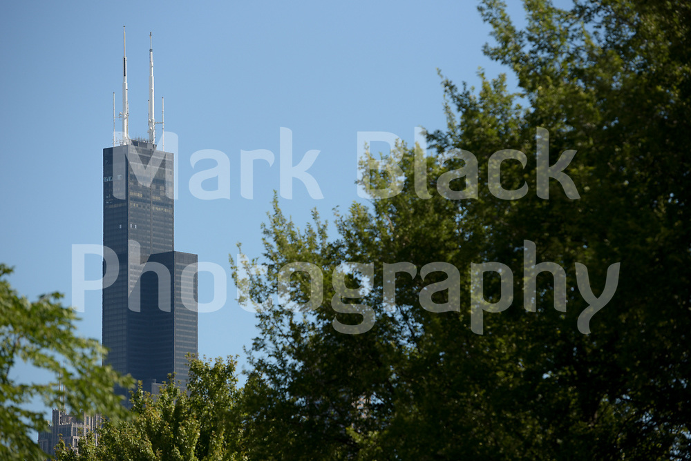 The Willis Tower known locally as the Sears Towner in Chicago on Wednesday, Aug. 19, 2020.  Photo by Mark Black