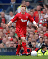 Photo: Glyn Thomas.<br />Chelsea v Liverpool. The FA Cup, Semi-Final. 22/04/2006.<br />Liverpool's John Arne Riise.