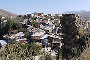 Turkey, Pontic Mountains range, Village