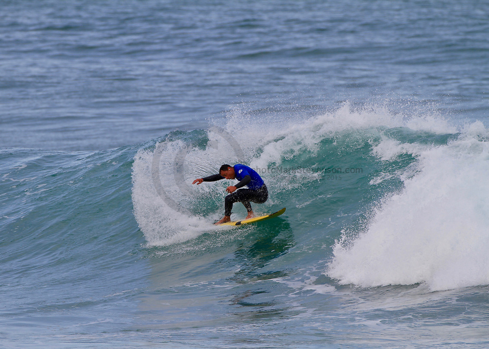Day 2 of the<br />  Emerson's South Island Champs in clean solid waves<br /> at St Clair Beach.