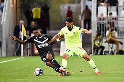 September 26, 2018 - Bordeaux, France - Mehmet Celik (losc) vs Samuel Kalu  (Credit Image: © Panoramic via ZUMA Press)