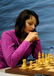 17-01-2011 SCHAKEN: TATA STEEL CHESS TOURNAMENT: WIJK AAN ZEE Katherina Lahno UKR <br /> ©2010-WWW.FOTOHOOGENDOORN.NL