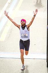 ING New York CIty Marathon: Luca Tassarotti, Italy crosses finish line