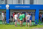 Henley on Thames, England, United Kingdom, 28th June 2019, Henley Royal Regatta Qualifiers, time trial, on Henley Reach, [© Peter SPURRIER/Intersport Image]<br /> <br /> 14:26:12