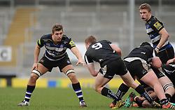 Bath's Rhys Davies.  - Mandatory byline: Alex Davidson/JMP - 07966386802 - 30/01/2016 - RUGBY - Sandy Park -Exeter,England - Exeter Chiefs u18's v Bath Rugby u18's - U18 League