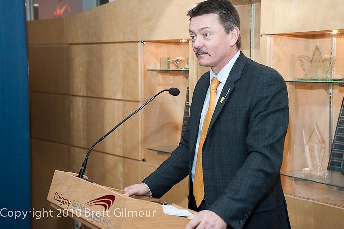 Doug Horner, CTI, Calgary Technologies Inc, AdSpots Launch Party