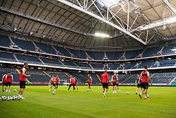 June 1, 2018 - Stockholm, SVERIGE - 180601 Danmarks fotbollslandslag trÅnar pÅ' Friends Arena den 1 juni 2018 i Stockholm  (Credit Image: © Joel Marklund/Bildbyran via ZUMA Press)