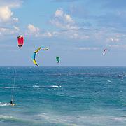 Kitesurfing. Malibu, CA. United States
