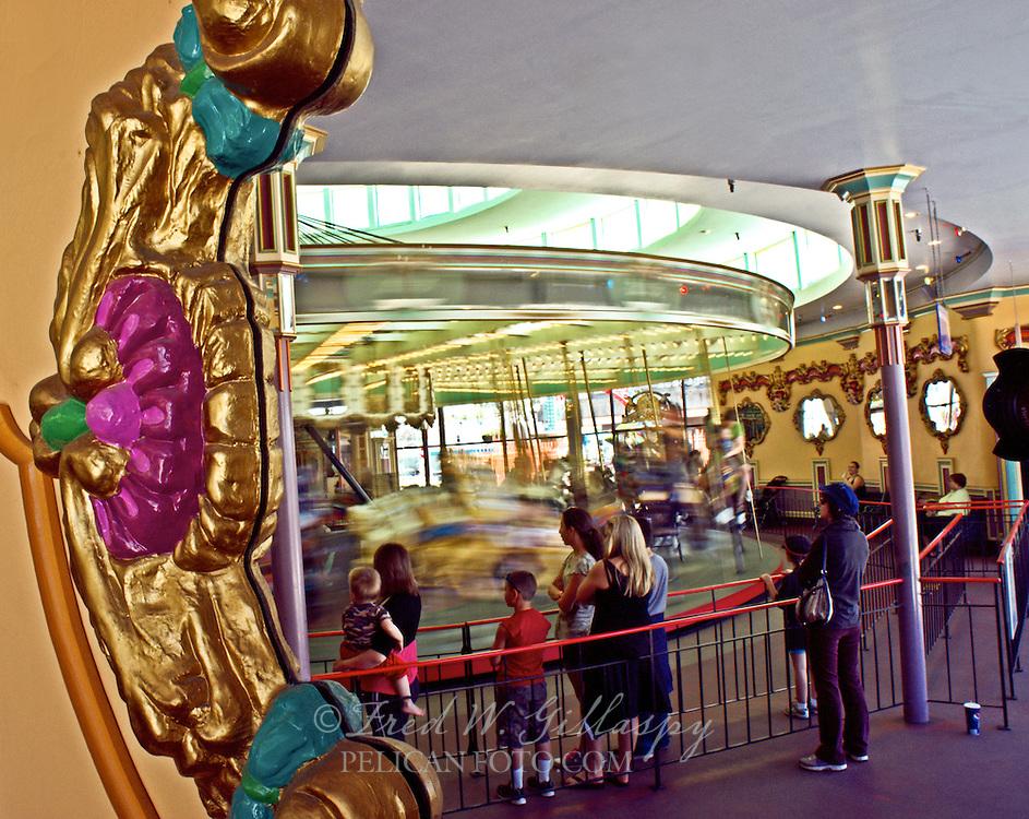 Looff Carousel, Santa Cruz Beach Boardwalk