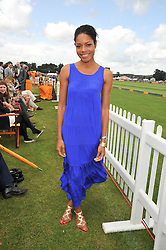Actress NAOMI HARRIS at the 2009 Veuve Clicquot Gold Cup Polo final at Cowdray Park Polo Club, Midhurst, West Sussex on 19th July 2009.