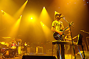 Band of Horses performs at Merriweather Post Pavilion in Columbia, MD. (Photo by Kyle Gustafson/www.kylegustafson.com)