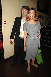 DEREK DRAPER and KATIE DERHAM at a party to celebrate the publication of Piers Morgan's book 'Don't You Know Who I Am?' held at Paper, 68 Regent Street, London W1 on 18th April 2007.<br /><br />NON EXCLUSIVE - WORLD RIGHTS