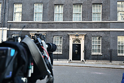 © Licensed to London News Pictures. 24/05/2019. London, UK. General view of Downing Street in Westminster, London on the morning British Prime Minster Theresa May is expected to make a statement. The Prime Minister is under huge pressure to quit over her handing of negotiations for the UK's exit from the European Union. Photo credit: Ben Cawthra/LNP