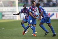 FOOTBALL - FRENCH CHAMPIONSHIP 2010/2011 - L1 - SM CAEN v TOULOUSE FC - 24/04/2011 - PHOTO ERIC BRETAGNON / DPPI -  JOY ROMAIN HAMOUMA (CAEN)
